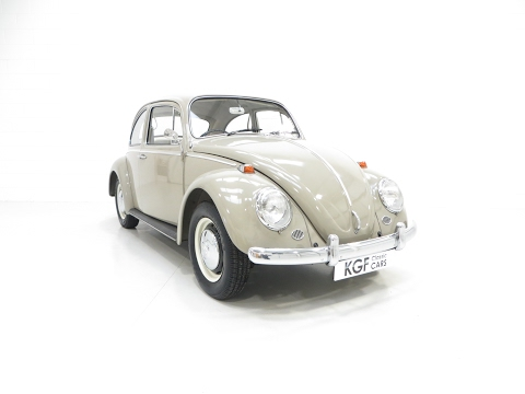 A Desirable RHD 1965 Volkswagen Beetle 1300 with 61,715 Miles and One Owner - SOLD!