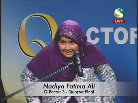 Q Factor 3 - Quarter Final Nadiya Fatima Ali