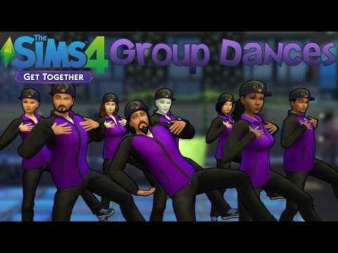 The Sims 4 Get Together: All Group Dances