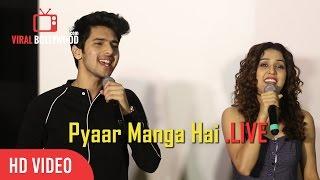Armaan Malik And Neeti Mohan Live Performance  Pyaar Manga Hai Song