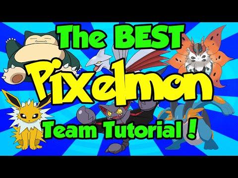 The BEST Pixelmon Team Tutorial! [Minecraft] [Pokemon]