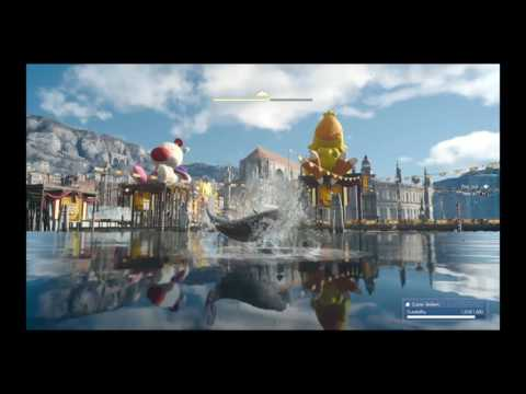 Final Fantasy XV Moogle Choco Carnival Fishing Prize B