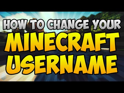 Minecraft- How to Change Your Username (Simple)