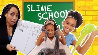 Sneaking Candy Into Slime School - Toy School