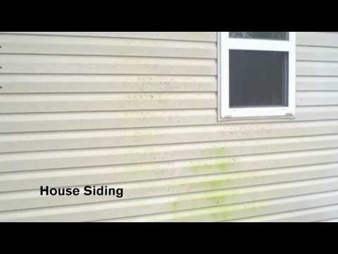 House Siding - Time Lapse - Concrobium Mold Stain Remover