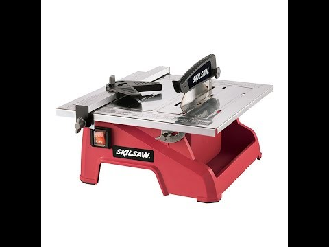 Review:  SKIL 3540-02 7-Inch Wet Tile Saw