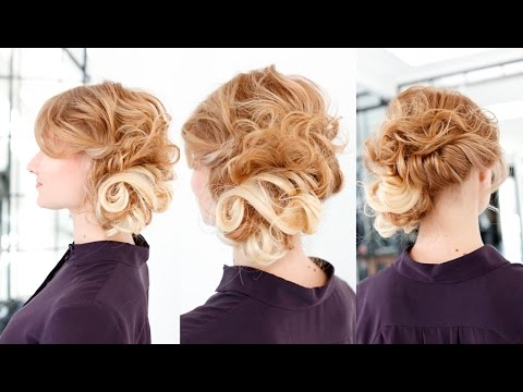 Wedding Hairstyle Tutorial with Hair Extensions
