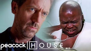 A Fathers Radioactive Gift Destroys His Son's Insides | House M.D.