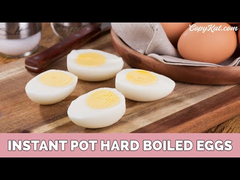 Instant Pot Hard Cooked Eggs