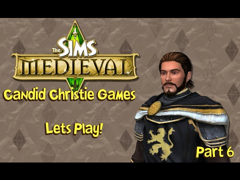 Let's Play the Sims Medieval   Part 6 - A Rash of Rudeness!