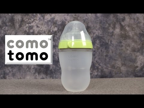 Soft Hygienic Silicone Baby Bottle from Como Tomo