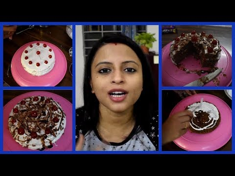 Black Forest Cake At Home | Very Easy And Tasty | Glam With Me