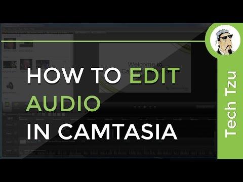 How to Edit Audio in Camtasia