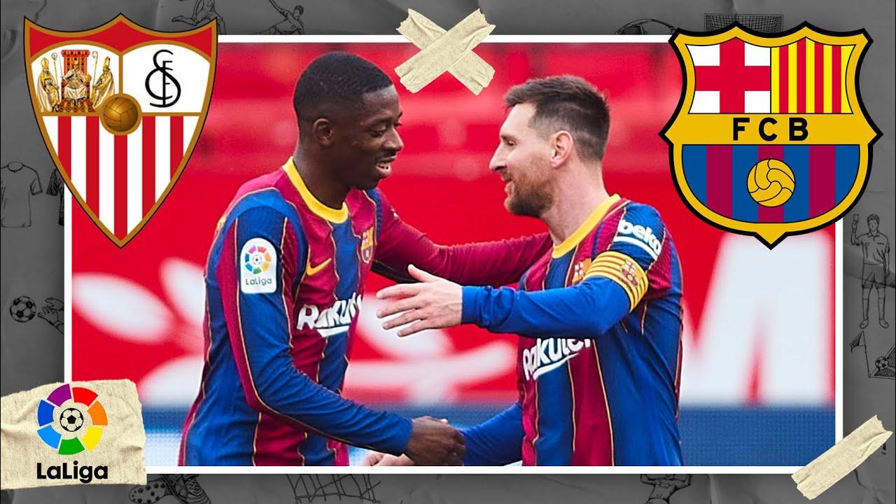 Sevilla vs Barcelona | LALIGA HIGHLIGHTS | 2/27/2021 | beIN SPORTS USA