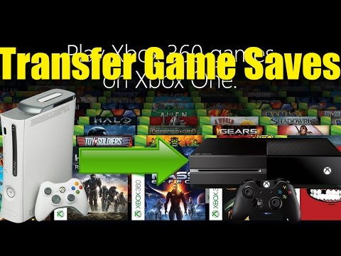 How To Transfer Game Saves From The Xbox 360 To The Xbox One | Gaming By Gamers