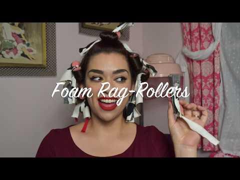 DIY Foam Rag Rollers