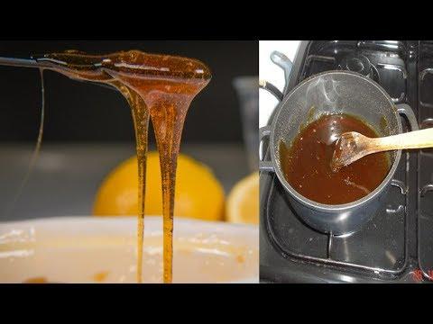 HOW TO MAKE SUGAR WAX AT HOME - DIY Homemade  🙂