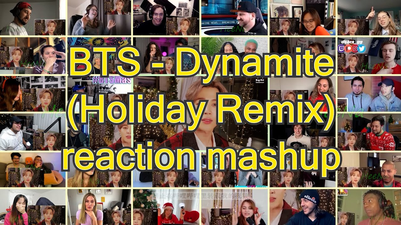 Download [BTS] Dynamite (Holiday Remix)|reaction mashup MP3 Gratis