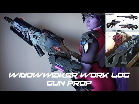 Widowmaker-Overwatch   Gun   Work Log