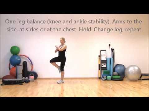 Strong legs Stable knees Super shape I | Marina Aagaard, MFE