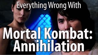 Everything Wrong With Mortal Kombat Annihilation