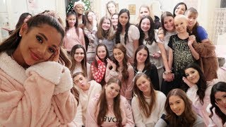 i had a sleepover with my subscribers!