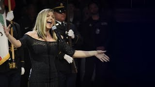 Fergie says her version of the national anthem
