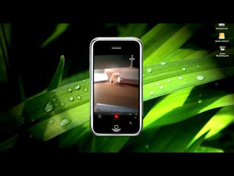 How to record video on your Iphone 3G!!