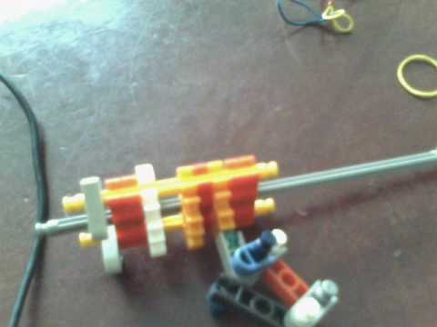 how to make a simple powerful knex gun with trigger