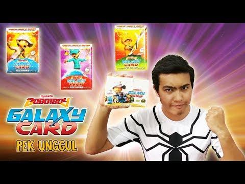 Boboiboy Cahaya Pek Unggul Official Boboiboy Galaxy Card From