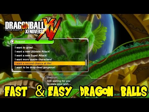 Dragon Ball Xenoverse: How To Easily Get Dragon Balls Fast (Guaranteed Method)
