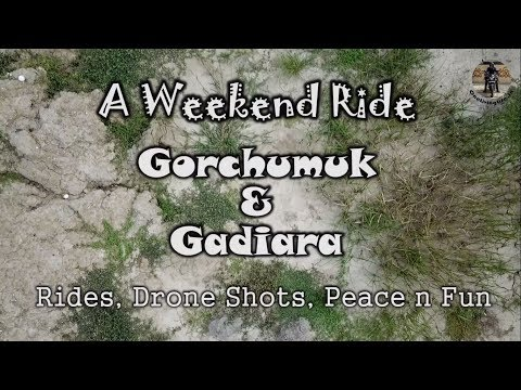 Gorchumuk Gadiara - Drone Shots and Fun | Weekend Ride from Kolkata