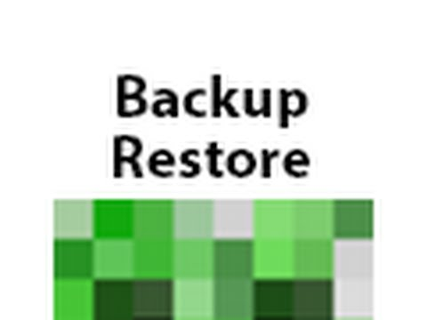 How to create own backup or restore of Minecraft server on serveromat.com