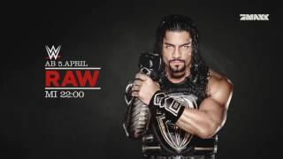 WWE Raw ab 5. April bei ProSiebenMaxx!