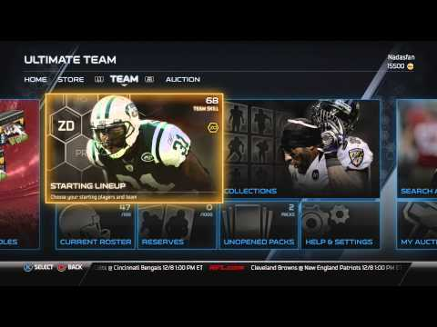 Madden 25 (PS4): Madden Ultimate Team EP1 - Team Nadasfan Creation