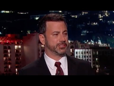 Jimmy Kimmel Cries About Son's Birth Defect - Then Blames Trump