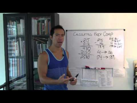 Lose Body Fat + Ideal Body Composition Calculations | Ask EricWongMMA