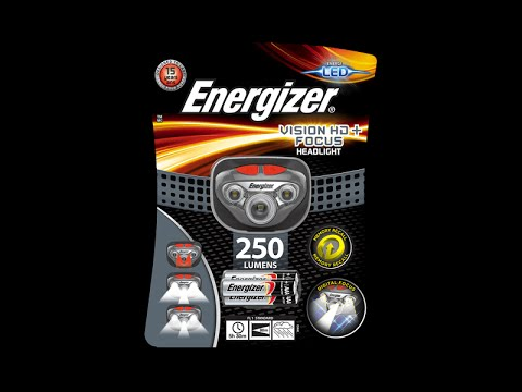 Energizer Vision HD Focus 250 Lumen Headlamp