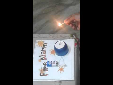 physics model -fire alarm