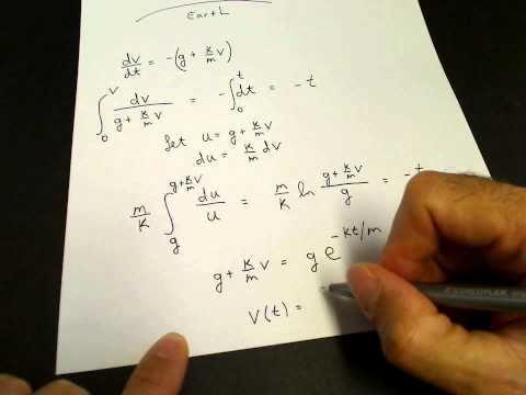 Terminal velocity (physics)