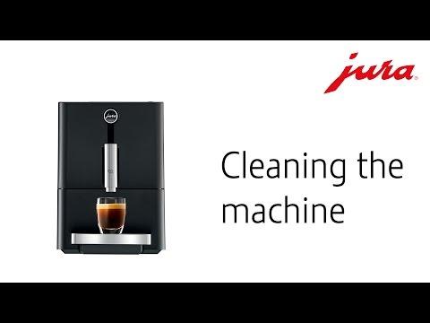 ENA Micro 1 − Cleaning the machine (multi-language subtitles)