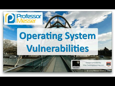 Operating System Vulnerabilities - CompTIA Network+ N10-006 - 3.2
