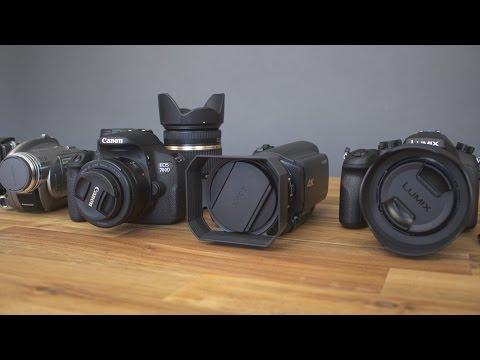 #5 TechCentury Camera Setup Tour 2016 (Sony AX100E, FZ-1000, GoPro Hero 4, 700D)