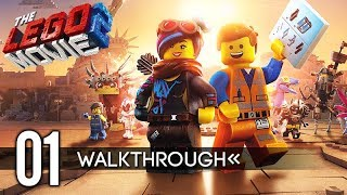THE LEGO MOVIE 2 VIDEOGAME Gameplay Walkthrough Part 1 (No Commentary) Early Access 1080p 60FPS HD