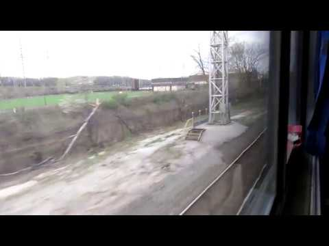 Amtrak conductor tells about freight train ahead