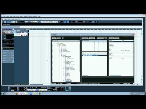 Cubase 5 Tutorial- Chopping a sample and Groove Agent One (Mandingo Superdome Productions)
