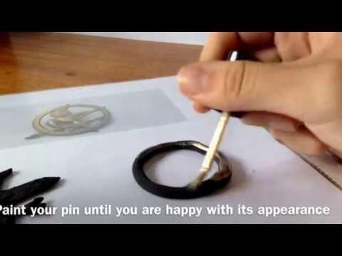 Simple Mockingjay Pin Tutorial