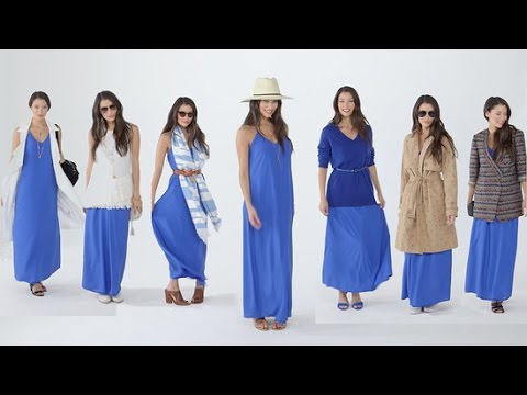 7 New Ways to Style a Maxi Dress to Perfection