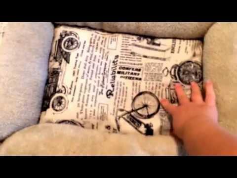 OxGord Pet Dog Bed Slumber Mat Plush Fleece Cushion