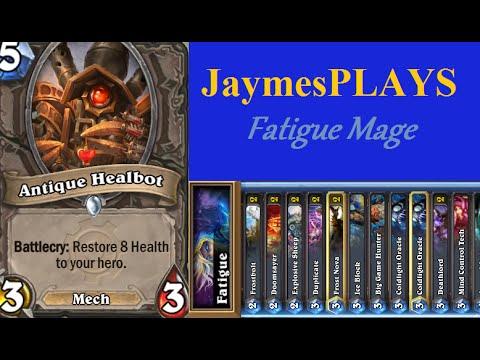 JaymesPLAYS Hearthstone - Fatigue Mage Fatigues...